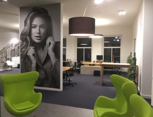Interieurontwerp modern kantoor in monumentaal pand