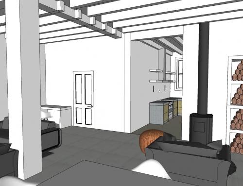 Inrichtingsvoorstel woonhuis Wijk bij Duurstede