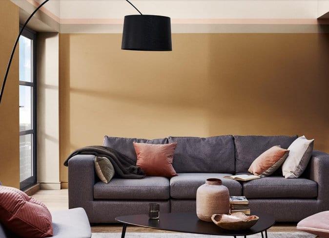 Offiz en Hoomz interieur advies en ontwerp kleurentrend Flexa Spiced Honey
