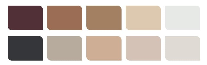 Offiz en Hoomz interieur advies en ontwerp - kleurpalet1