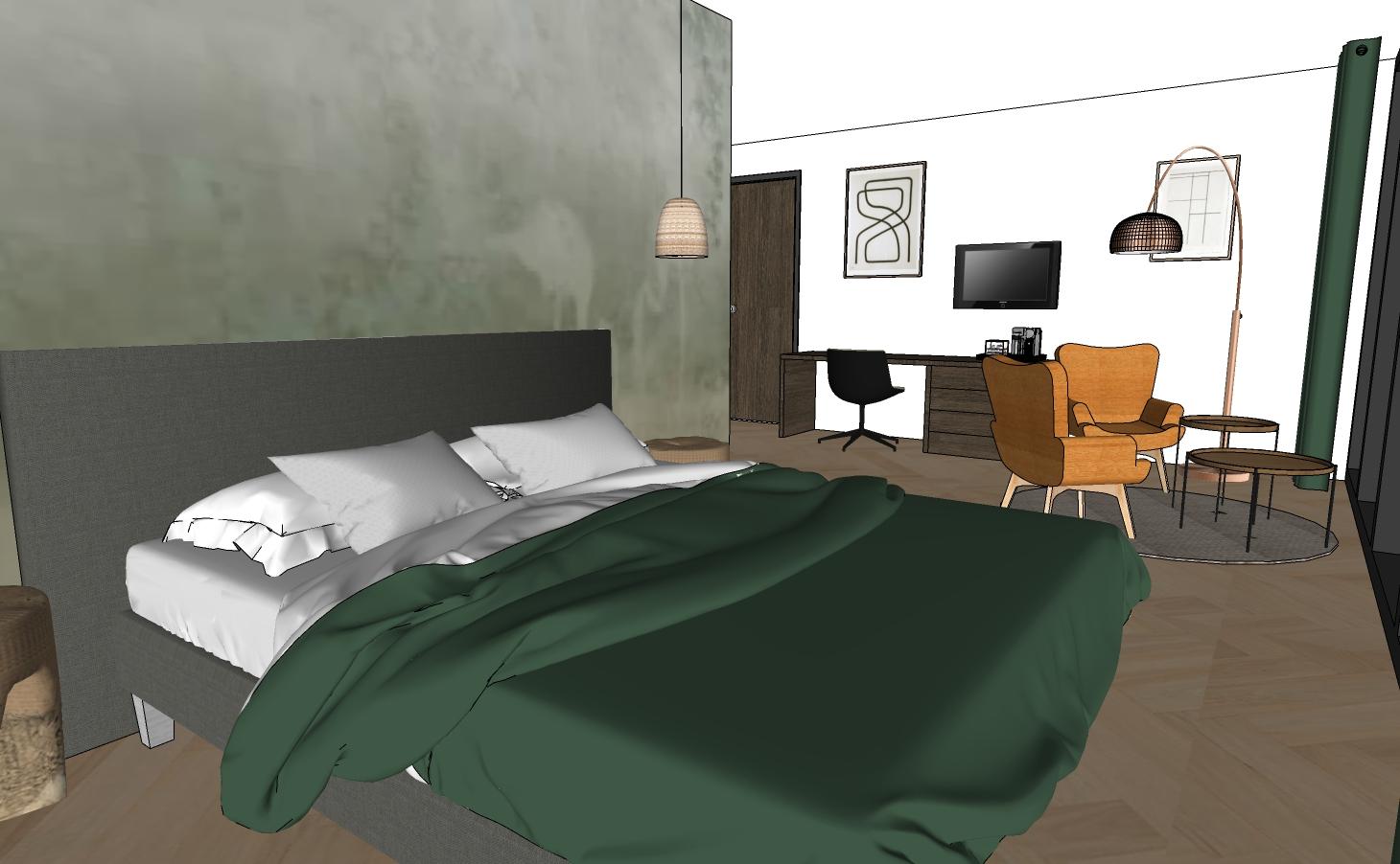 Inrichtingsadvies interieur hotelkamer next generation traveler 2